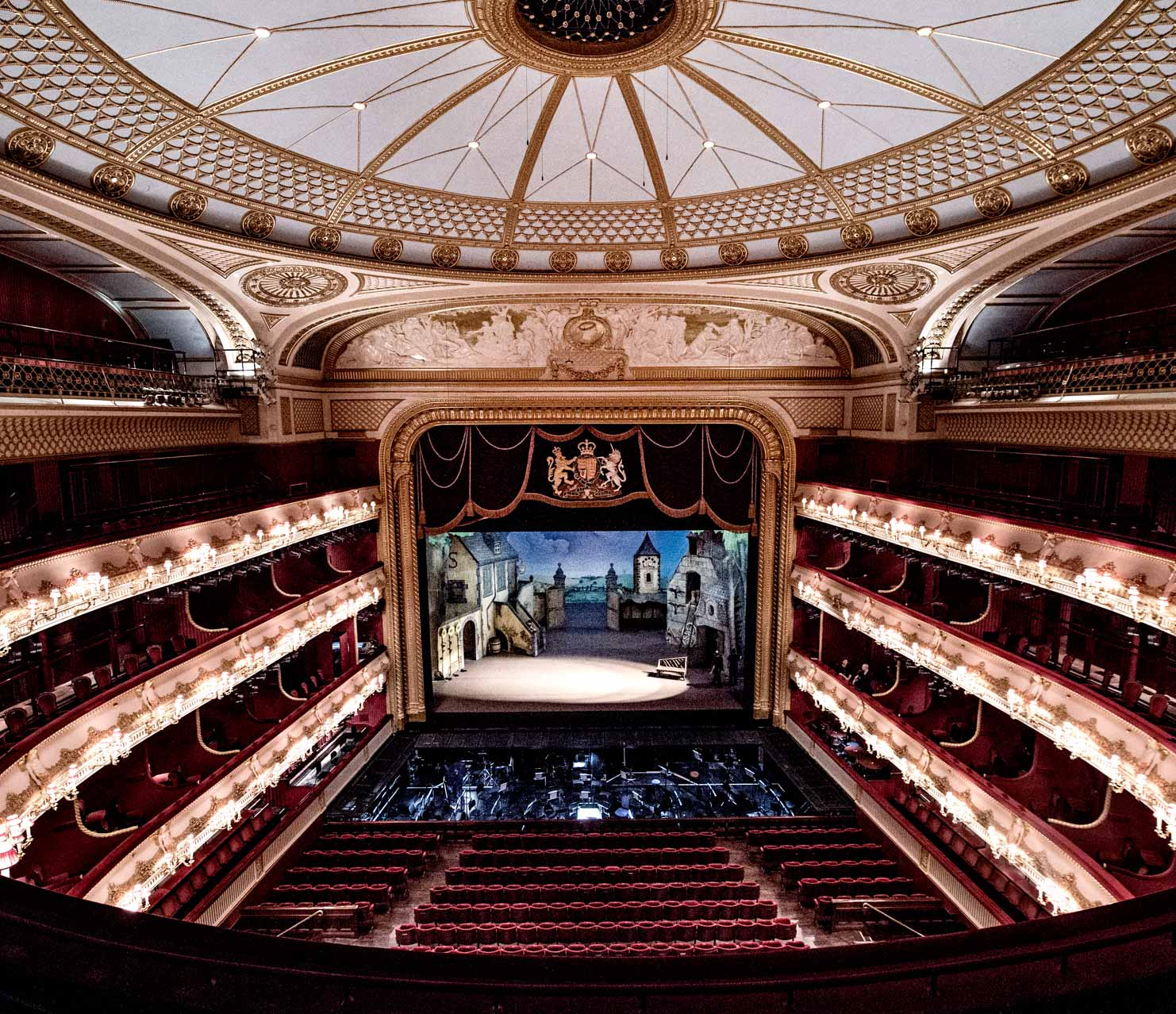 Royal Opera House interior